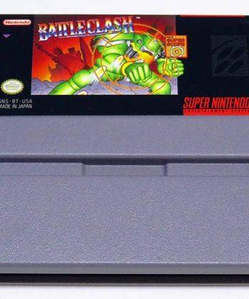 Battleclash NTSC US CART SNES