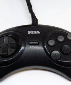 Acessório Usado Mega Drive Comando 6 Botões