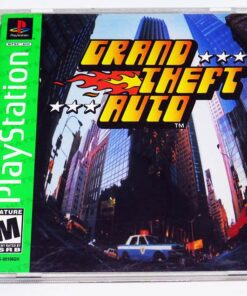 Grand Theft Auto NTSC US PS1