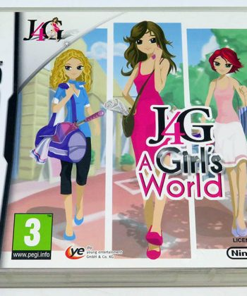 J4G A Girl's World NDS