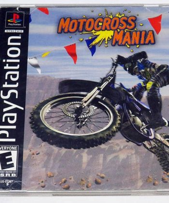 Motocross Mania NTSC US PS1