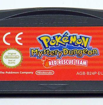 Pokémon Mystery Dungeon: Red Rescue Team CART GAME BOY ADVANCE