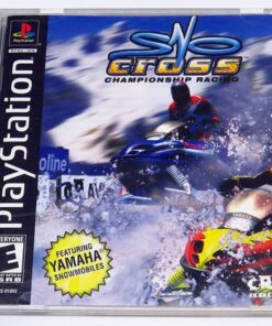 SnoCross Championship Racing NTSC US PS1