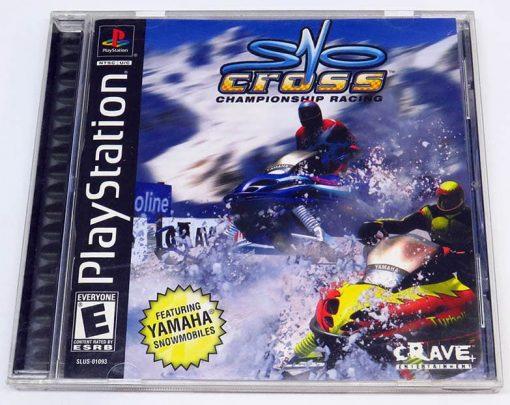 SnoCross Championship Racing NTSC US PS1