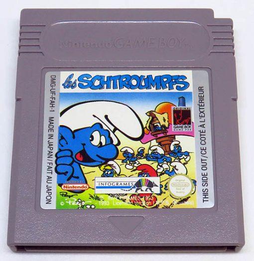 The Smurfs FR US CART GAME BOY
