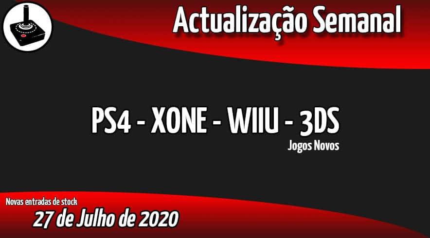 Jogos Novos PS4 - XONE - WIIU - 3DS