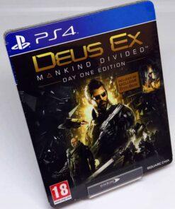 Deus Ex: Mankind Divided - Day One Edition Steelbook PS4