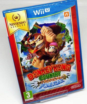 Donkey Kong Tropical Freeze WII U