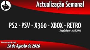 Jogos Usados PS2 - PSV - X360 - XBOX - RETRO