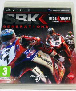 SBK Generations PS3