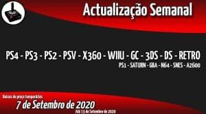 Baixas de preço PS4 - PS3 - PS2 - PSV - X360 - WIIU - GC - 3DS - DS - RETRO
