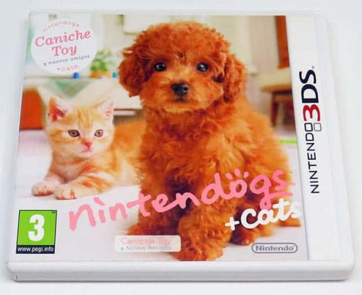 Nintendogs + Cats: Caniche Toy 3DS