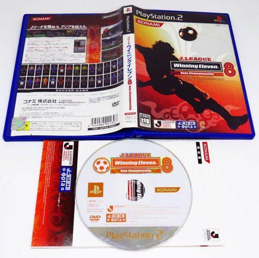 Winning Eleven 8 J-League NTSC-JP PS2