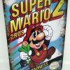 Placa Metálica Decorativa Super Mario Bros 2