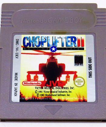 Choplifter II CART GAME BOY