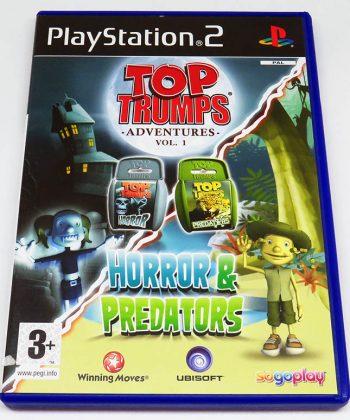 Top Trumps Adventures Vol.1: Horror & Predators PS2