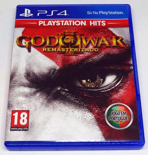 God of War III Remasterizado PS4
