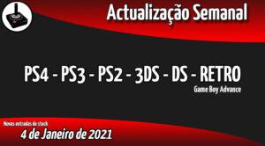 Jogos Usados PS4 - PS3 - PS2 - 3DS - DS - RETRO