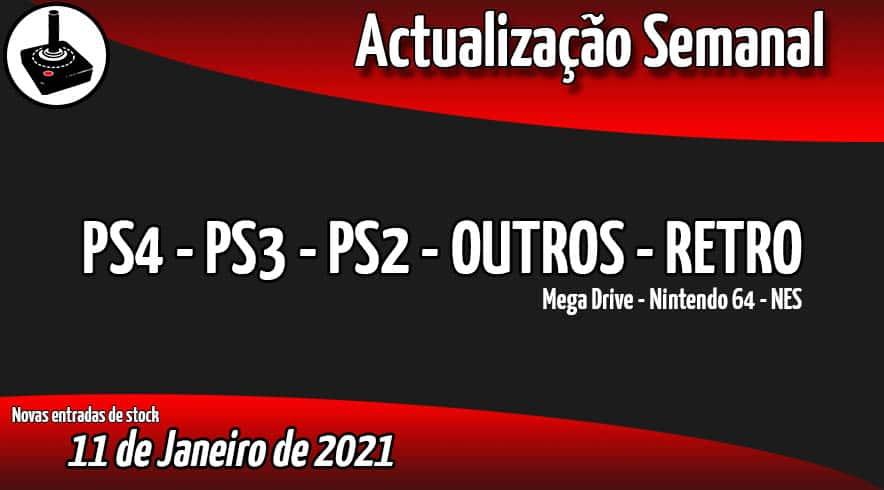 Jogos Usados PS4 - PS3 - PS2 - OUTROS - RETRO