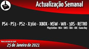 Jogos Usados PS4 - PS3 - PS2 - X360 - XBOX - NSW - WII - 3DS - RETRO