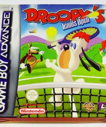 Droopy's Tennis Open GAME BOY ADVANCE
