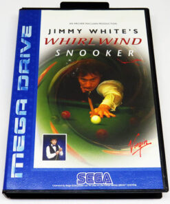 Jimmy White's Whirlwind Snooker MEGA DRIVE