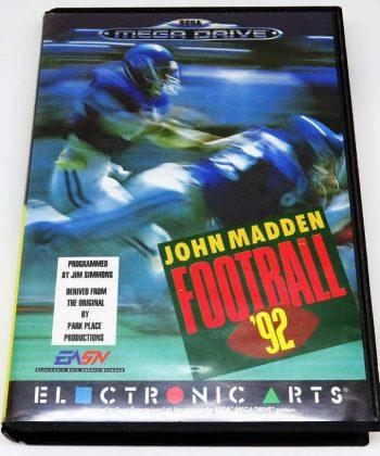John Madden Football 92 MEGA DRIVE