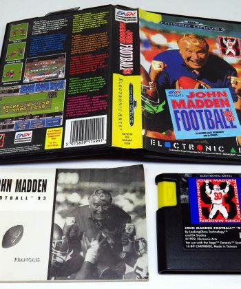 John Madden Football 93 MEGA DRIVE