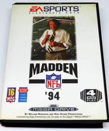 Madden NFL 94 MEGA DRIVE