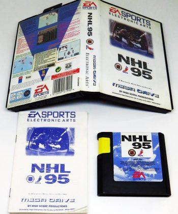 NHL 95 MEGA DRIVE