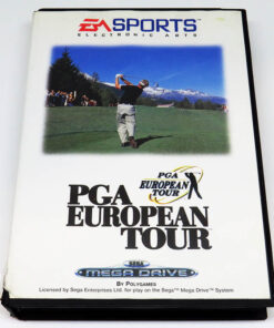 PGA European Tour MEGA DRIVE