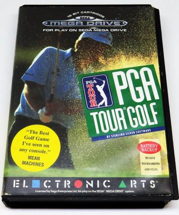 PGA Tour Golf MEGA DRIVE