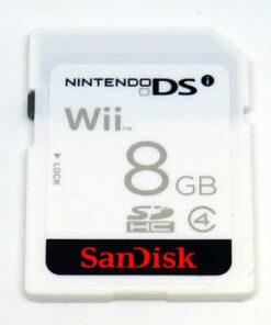 Acessório Usado SanDisk SD Card 8GB Wii/DSi