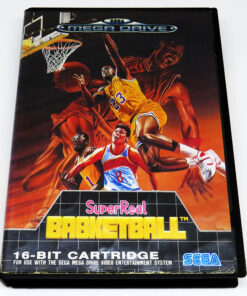 SuperReal Basketball MEGA DRIVE
