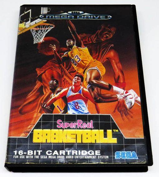 SuperReal Basketball MEGA DRIVE