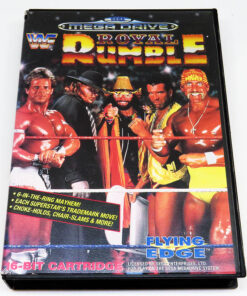 WWF Royal Rumble MEGA DRIVE