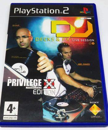 DJ: Decks & FX Live Session PS2