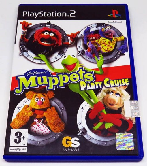 Muppets Party Cruise PS2