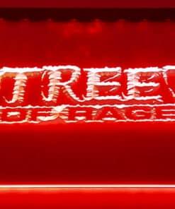 Merchandise Streets of Rage - Placa Decorativa LED Iluminada