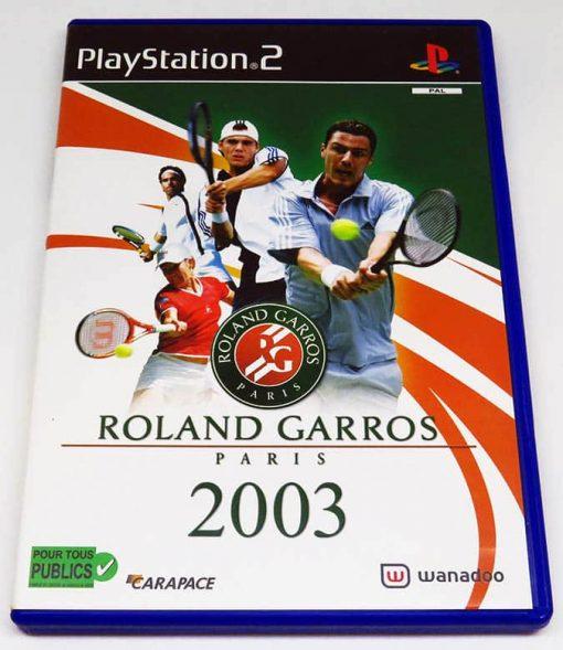 Roland Garros 2003 FR PS2
