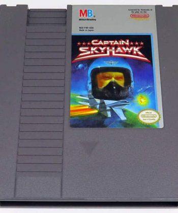 Captain SkyHawk CART NES