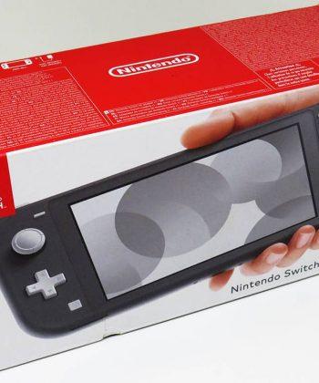 Consola Usada Nintendo Switch Lite Cinzenta