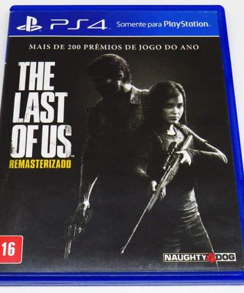 The Last of Us Remastered BR PS4