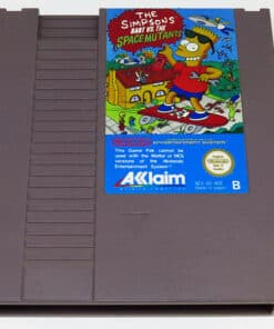 The Simpsons: Bart vs The Space Mutants CART NES