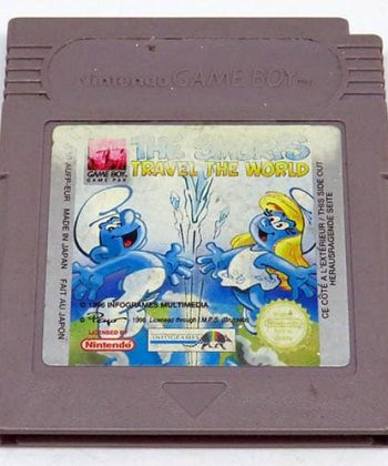 The Smurfs Travel The World CART GAME BOY