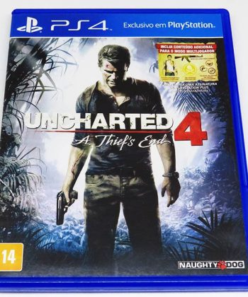 Uncharted 4: A Thief's End BR PS4