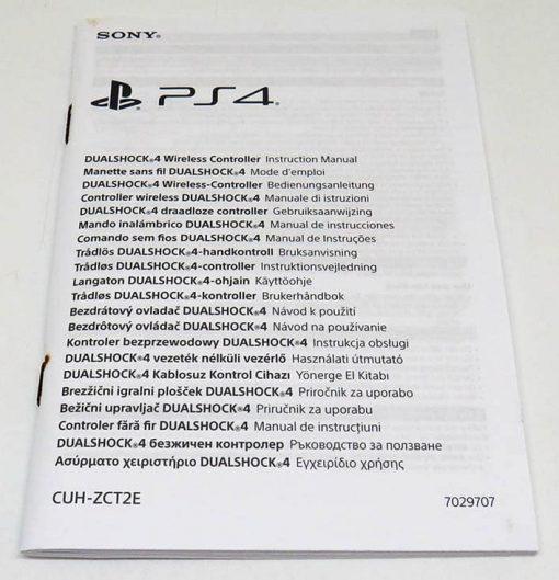Acessório Usado PS4 Comando Dual Shock 4 Limited Edition Playstation F.C.