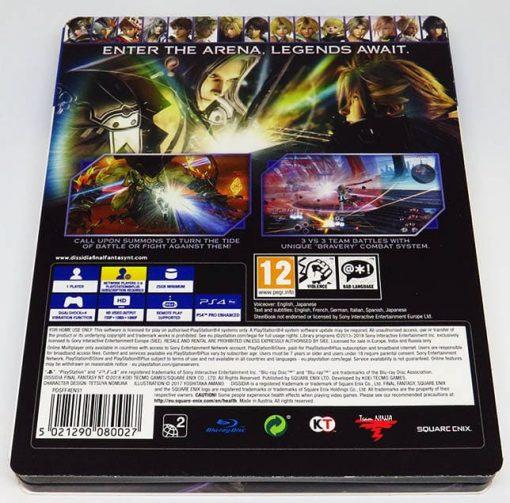 Dissidia Final Fantasy NT - Special Steelbook Edition PS4
