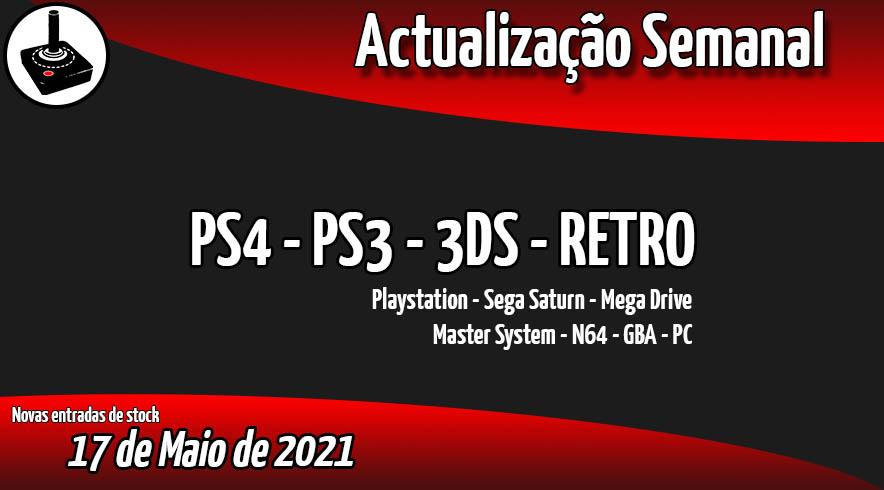 Jogos Usados PS4 - PS3 - 3DS - RETRO