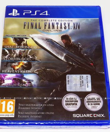 Final Fantasy XIV - The Complete Edition PS4
